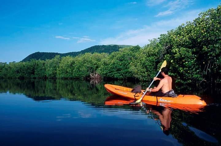 Kayak en barra el potosí