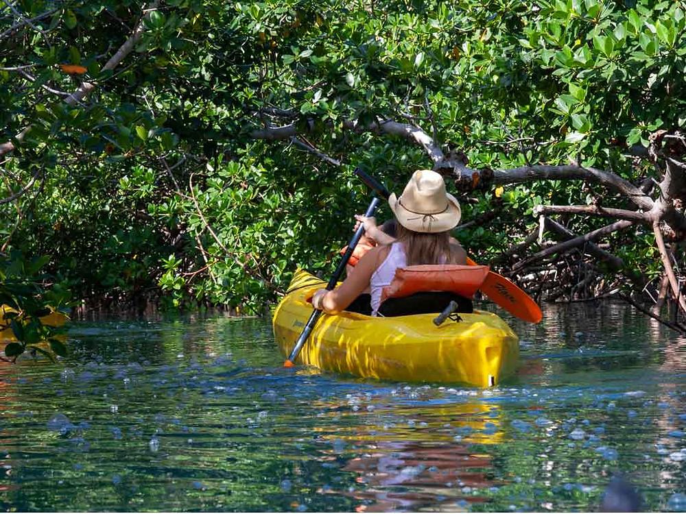 hacer kayak en ixtapa zihuatanejo