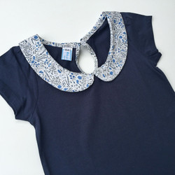 T shirt col claudine