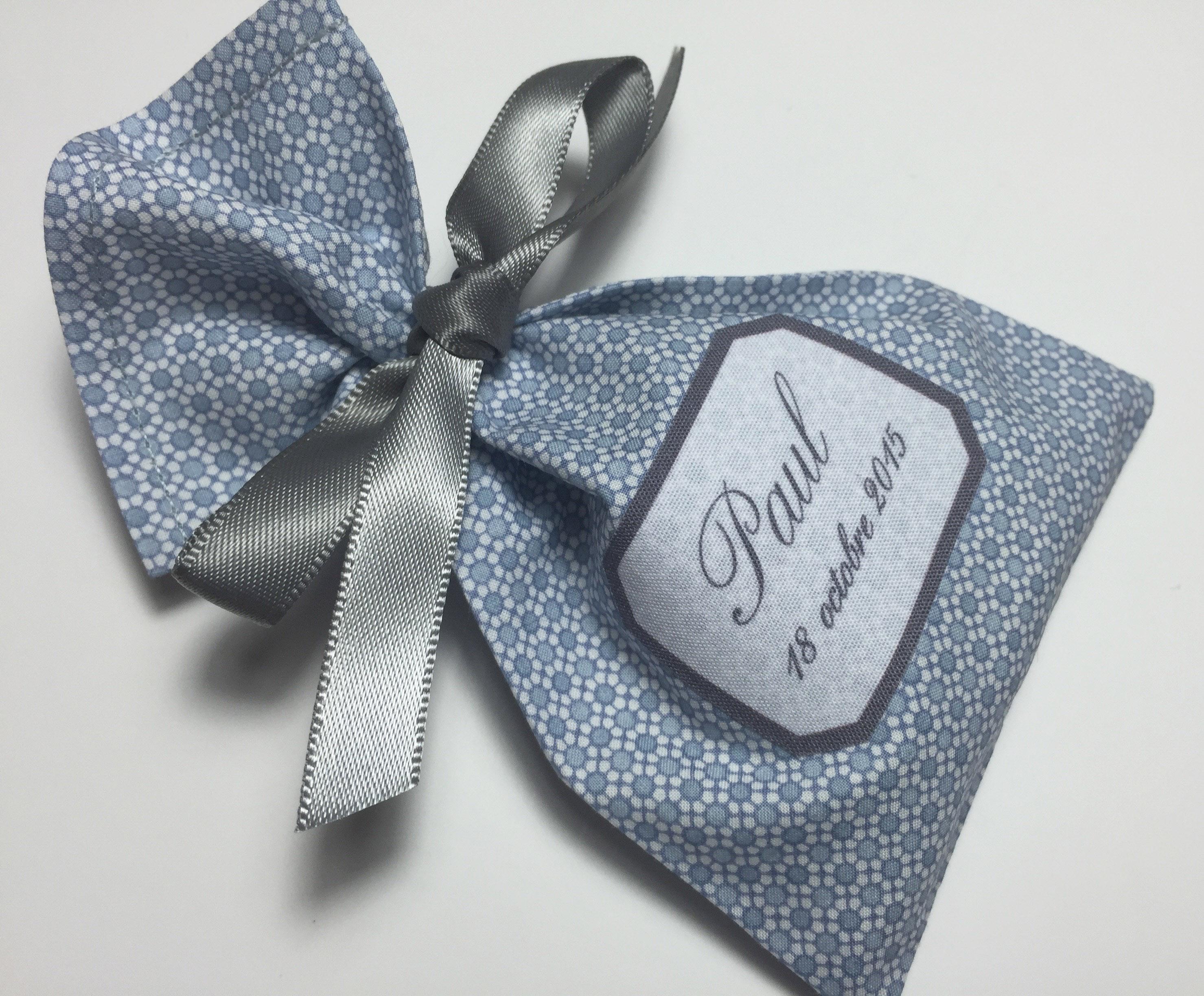Mini motifs bleu