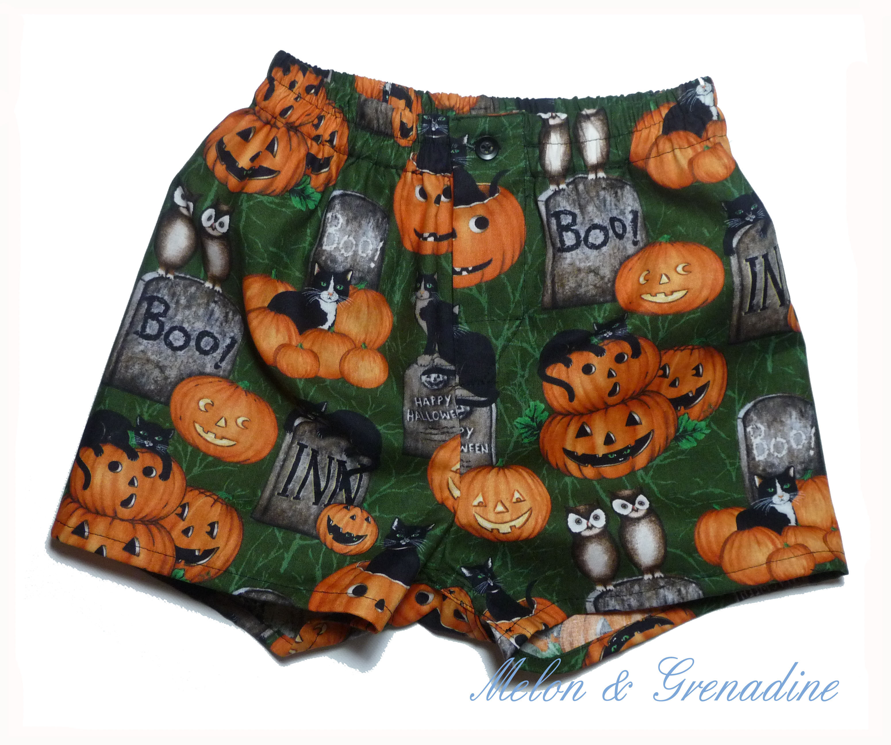 Caleçon Halloween