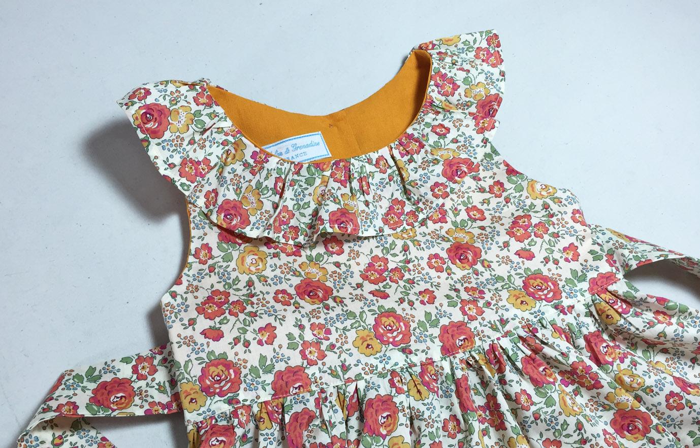 Robe Jeanne frou-frou