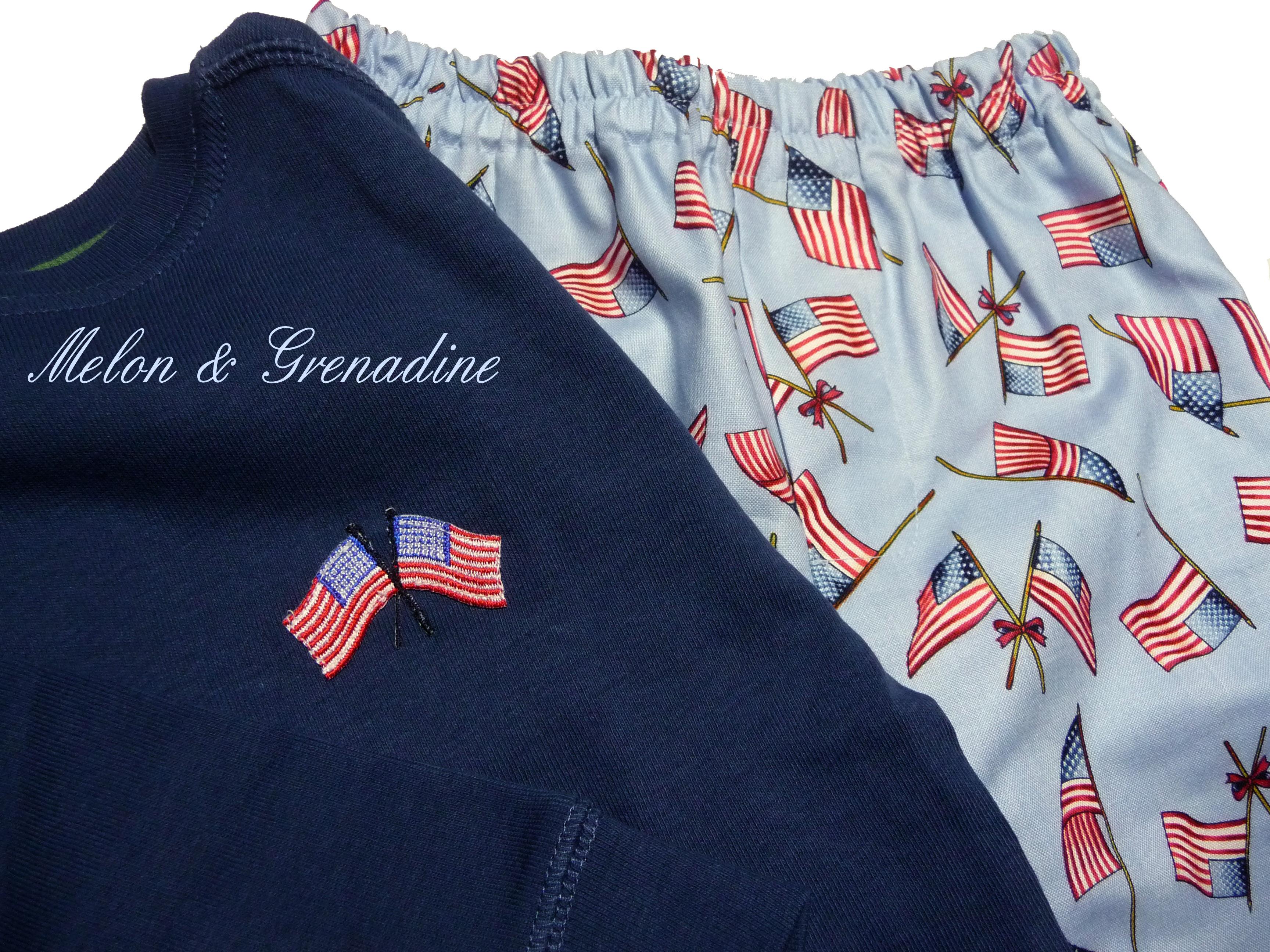 Pyjama us flag