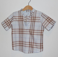 Chemise Côme manches courtes
