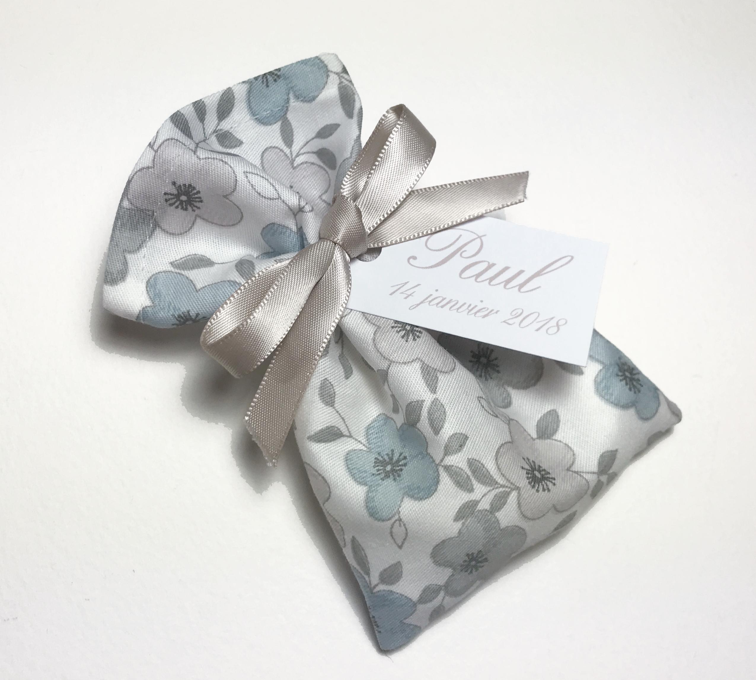Toile coton Gris bleu
