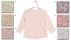 T shirt rose poudré