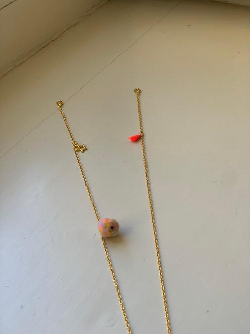 Mask Chain: Star, Pom, Tassle