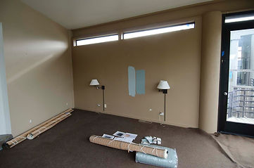 interior spaces inc stinson beach before