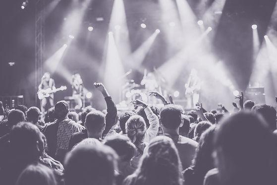 Concert public en direct