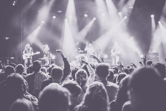 コンサートライブ聴衆