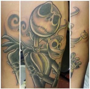 Jack tattoo by Defense