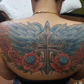 Back Cover up by Defense