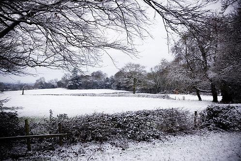 Derbyshire snow...