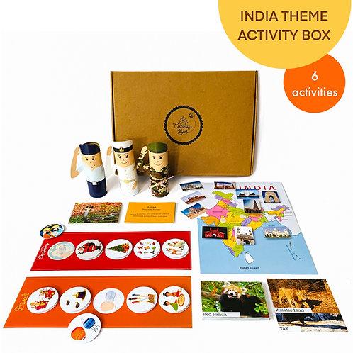 Incredible India Theme Activity Box