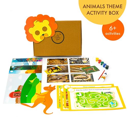 Animal Theme Activity Box