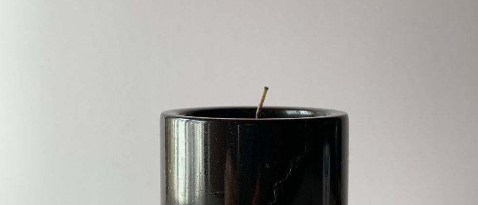 Мраморная свеча,10см