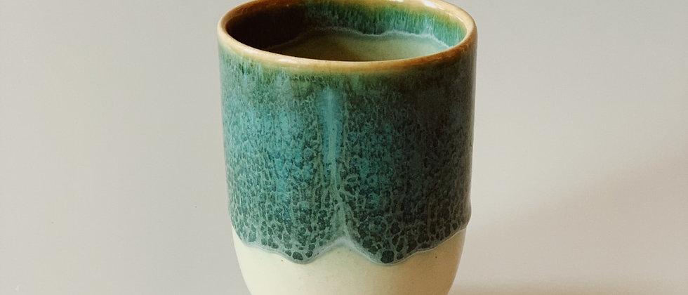 Кофейный стакан с глазурью