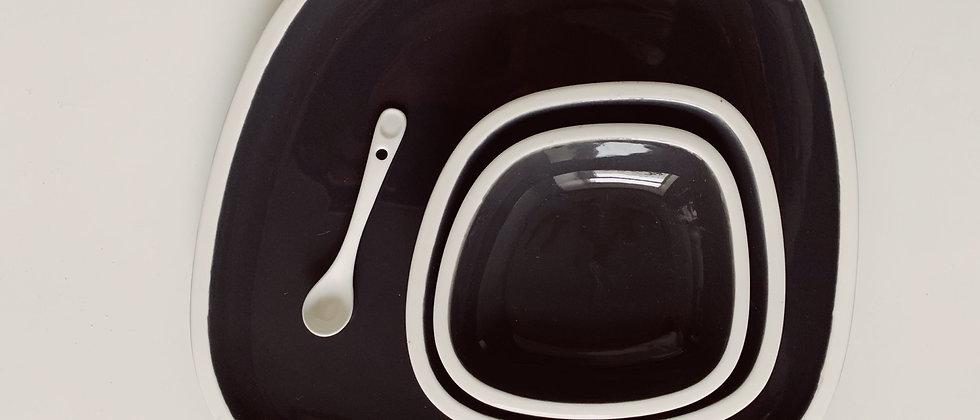 Сервировочная тарелка 12см
