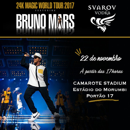 Svarov com Bruno Mars