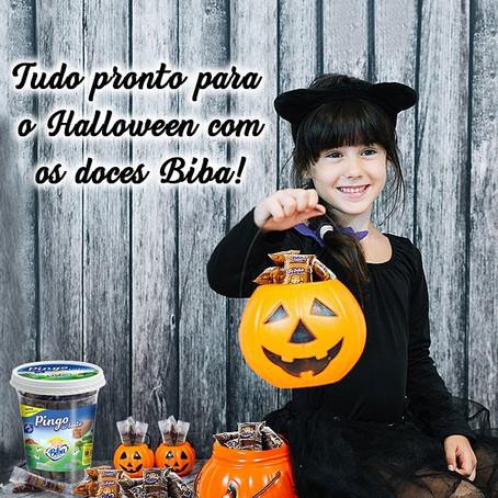 Halloween com Biba