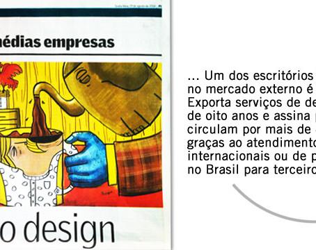 Jornal Valor Econômico. Foco no Design