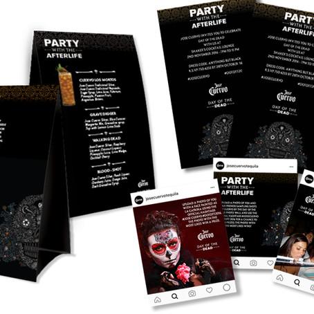 Materiais promocionais alinhados com a campanha mundial da marca.