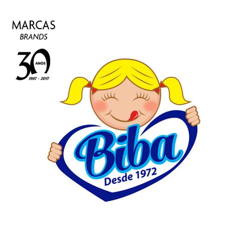 Nova identidade Doces Biba