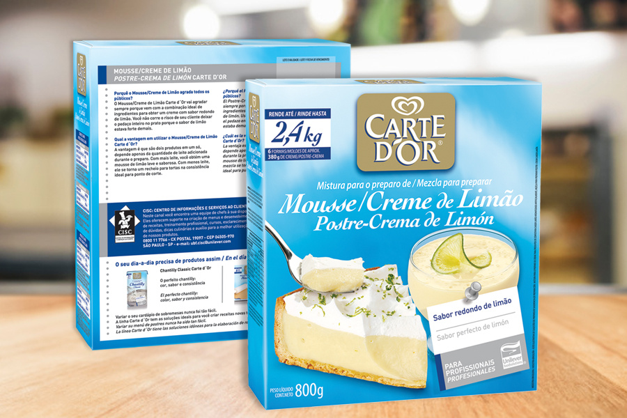 Unilever - Carte D'or - mousse creme