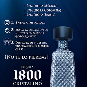 Dicas e live de 1800 Tequila