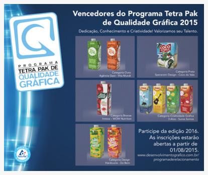 Tetra Pak premia empresas de design em embalagens