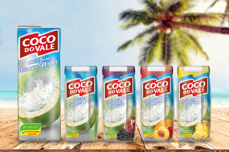 Coco do Vale - Água exportação