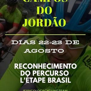 Reconhecimento do L`Étape Brasil