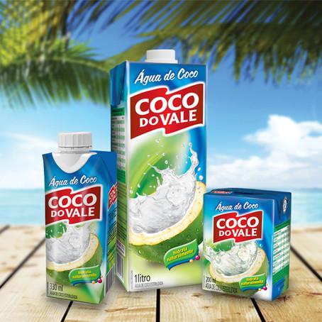 Design de embalagens, mockups e marcas para Coco do Vale.
