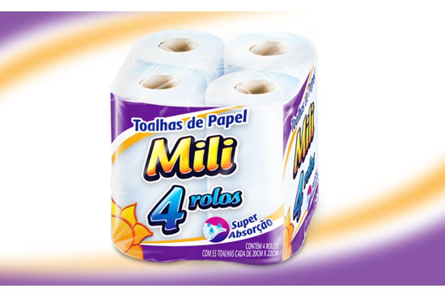 Mili - papel toalha