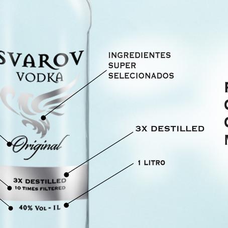Svarov vodka não tem igual.
