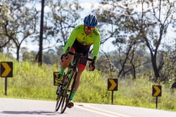 Jean Coloca é referência no ciclismo de estrada