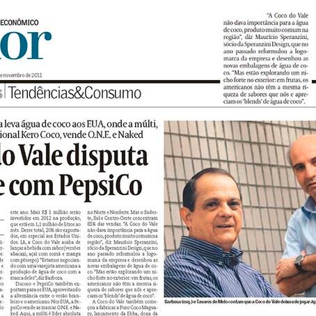 Jornal Valor Econômico: Coco do Vale disputa cliente com PepsiCo