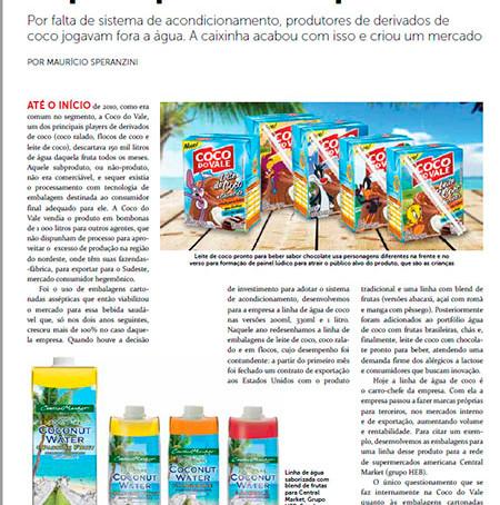 Revista EmbalagemMarca: Design que agrega valor e entrega resultados.