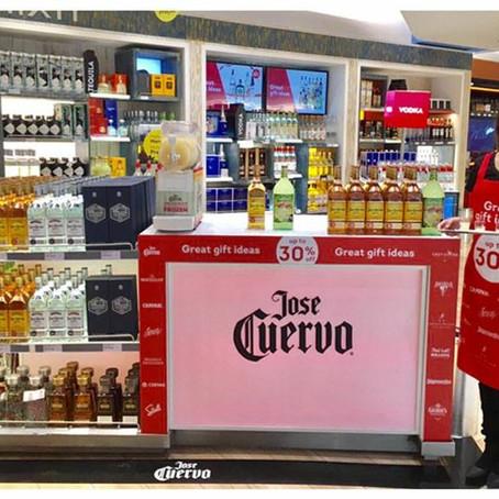 Jose Cuervo nos Aeroportos