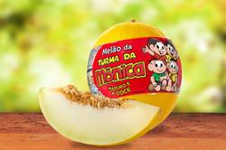 Itaueira - melão Turma da Mônica