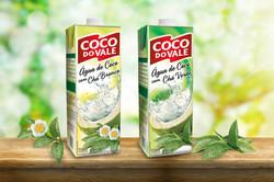 Coco do Vale - água de coco + chás