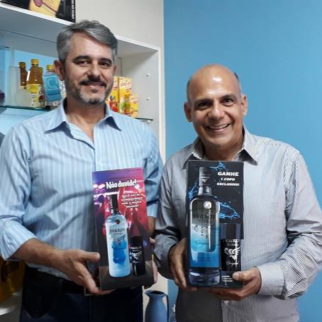 Com o chéf Rogério Fernandes