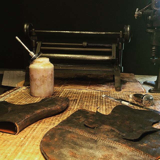 Skiving-Cementing-Sewing-Sculpting are j