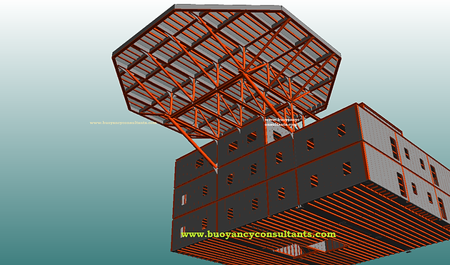 Detail Design of Living Quarters for FPSO Completed