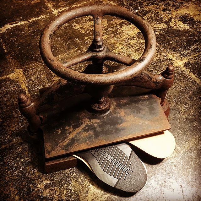 Started using this 1940s Cast Iron Book-