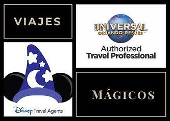Agentes oficiales Disney y Universal