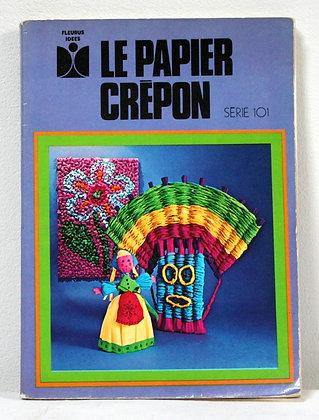 Le papier crépon