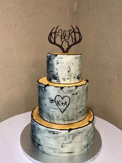 black aspen cake