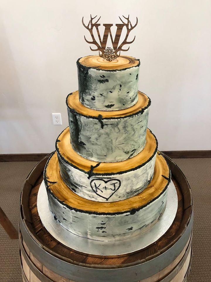 black tree cake