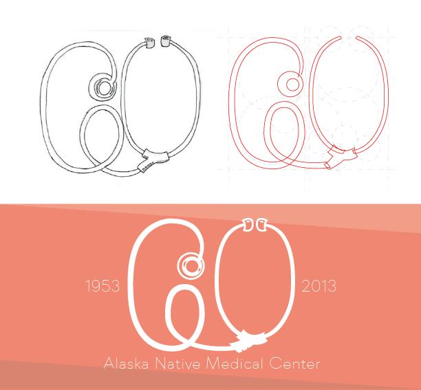 60th Anniversary Hospital Grpahic